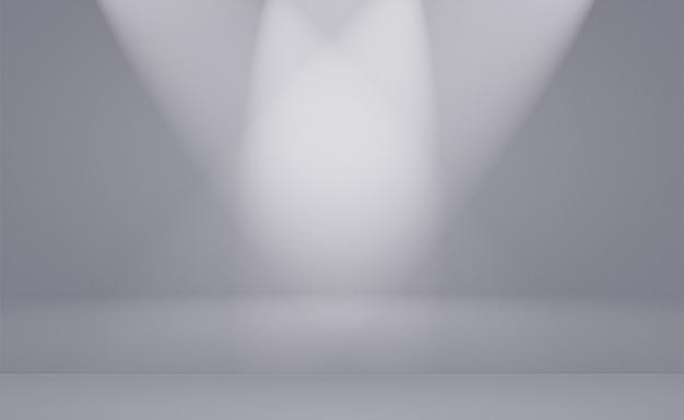 Gradiente gris y negro de la falta de definición llanura de lujo abstracta, utilizado como pared del estudio del fondo para exhibir sus productos.