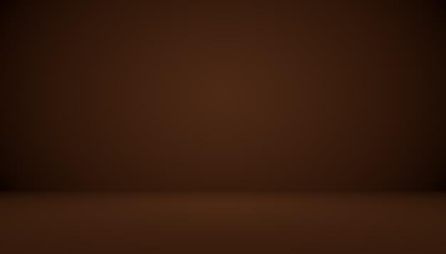 Gradiente marrón abstracto bien utilizado como fondo para la exhibición del producto.