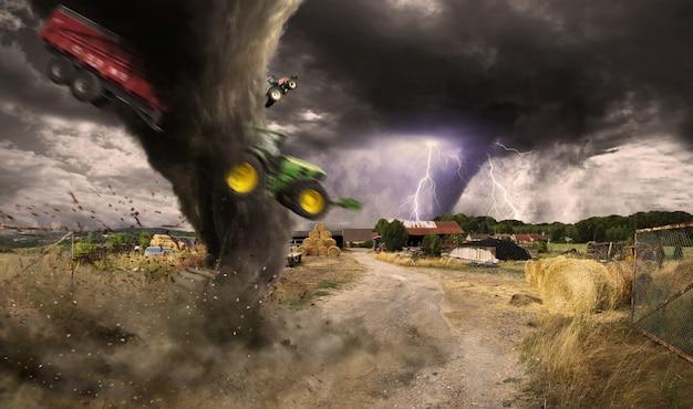 Gran desastre del tornado