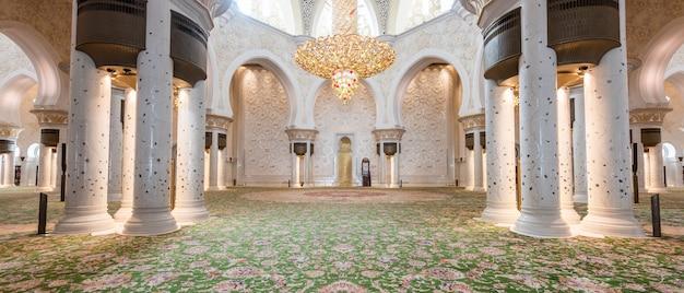 Gran mezquita sheikh zayed de abu dhabi