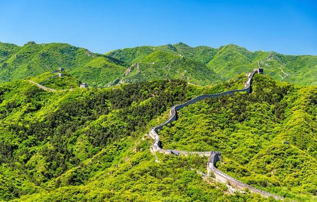 La gran muralla china en badaling