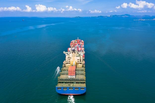 Gran negocio de envío internacional para el servicio de carga de contenedores de carga
