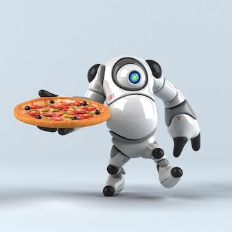 Gran robot - ilustración 3d