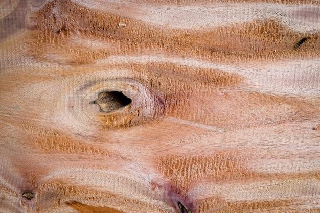 Gran tablón de madera con detalles, textura y patrón de fondo de naturaleza de madera de piel.