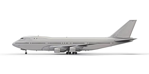 Grandes aviones de pasajeros de gran capacidad para largos vuelos transatlánticos