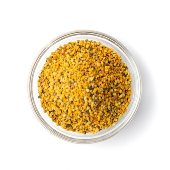 Granos de polen de abeja o pan de abeja