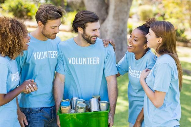 Grupo de caja voluntaria