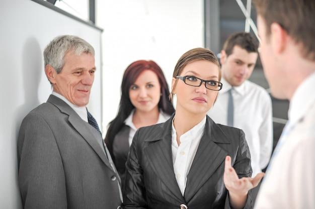 Grupo de empresarios
