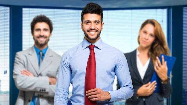 Grupo de gente de negocios