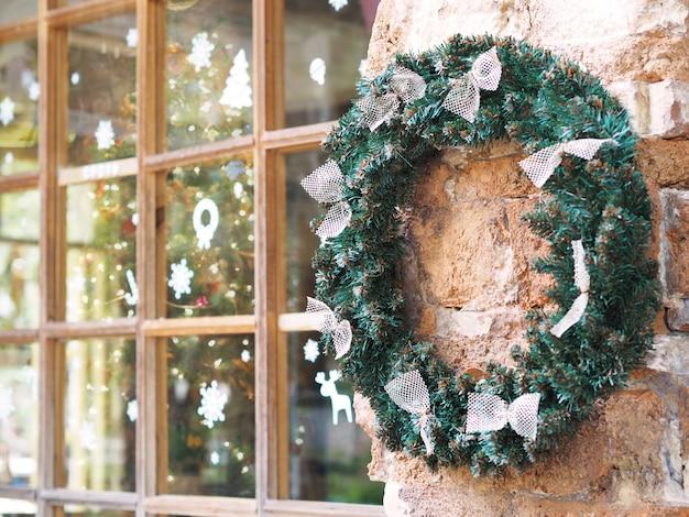 Guirnalda de navidad con colgar en la pared