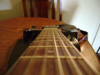 Guitarra vista