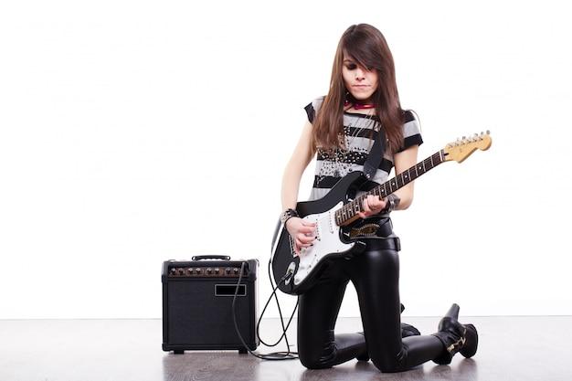 Guitarrista de rock