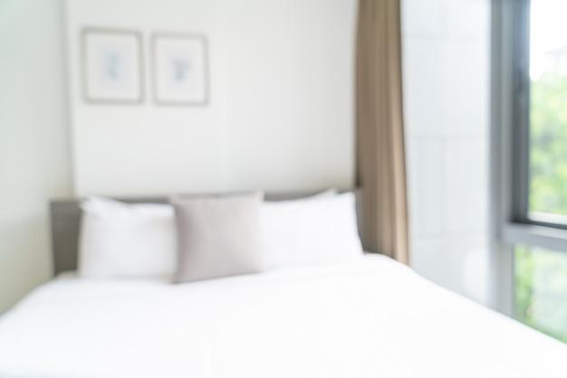Habitación de hotel borrosa