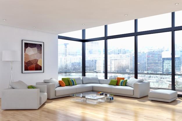 Habitacion interior moderna