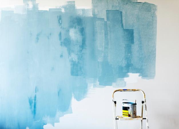 Habitación interior renovación pintura interior