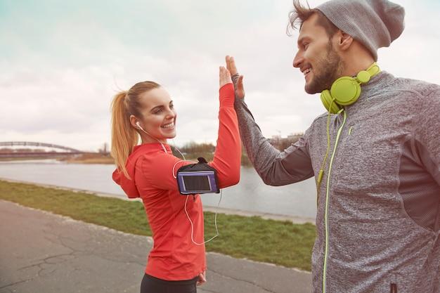 Hacer ejercicio contigo siempre es un éxito