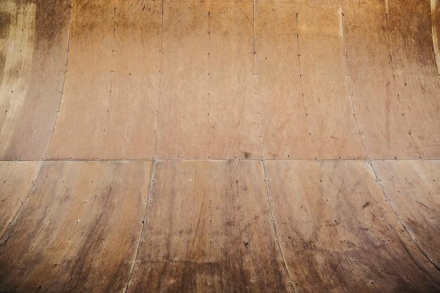 Half pipe de madera