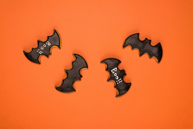 Halloween bate las galletas