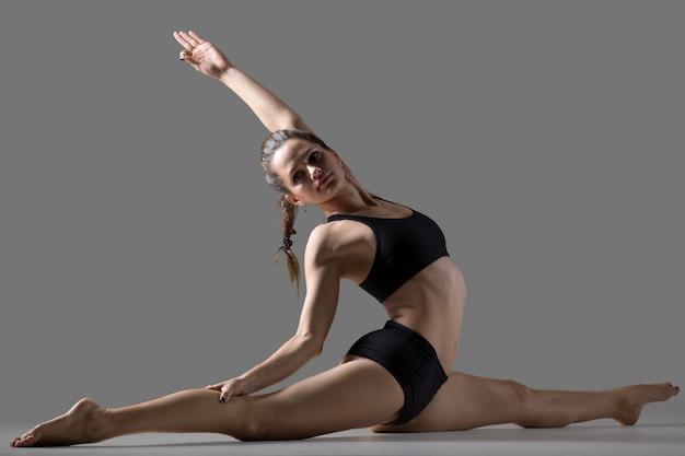 Hanumanasana yoga plantean