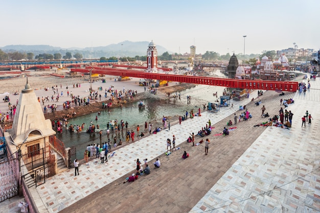 Haridwar en la india