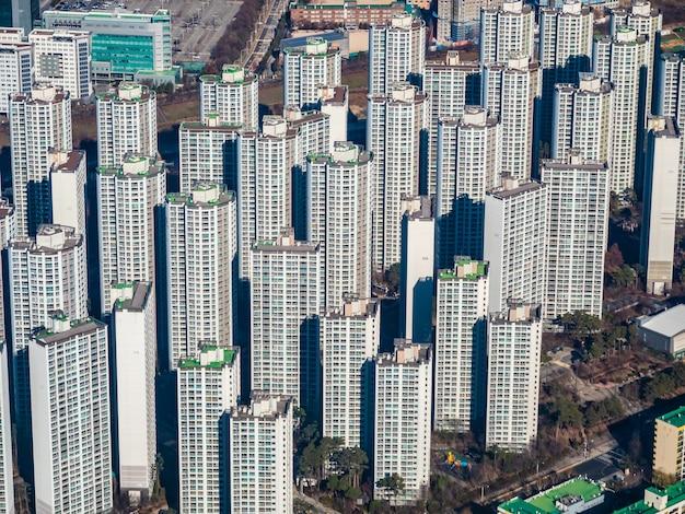 Hermosa arquitectura en la ciudad de seúl