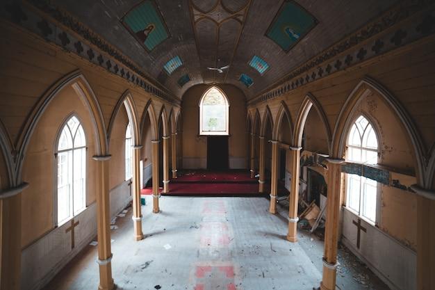 Hermosa arquitectura de la iglesia