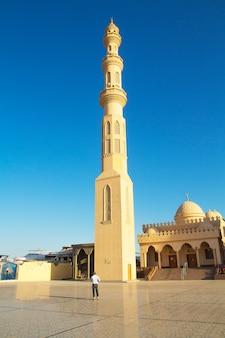 Hermosa arquitectura de la mezquita.