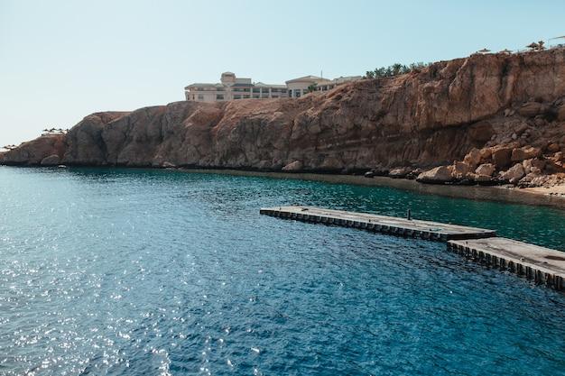 Hermosa bahía de egipto