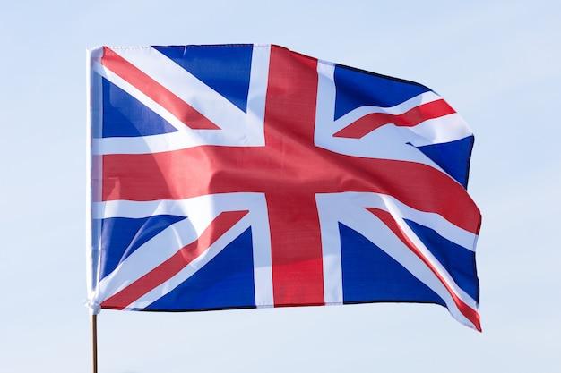 Hermosa bandera de gran bretaña