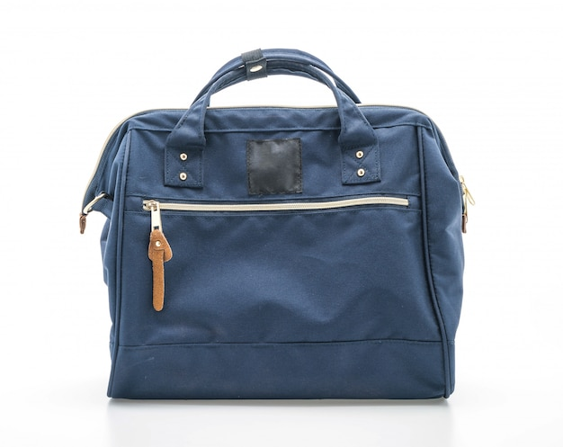Hermosa bolsa azul marino