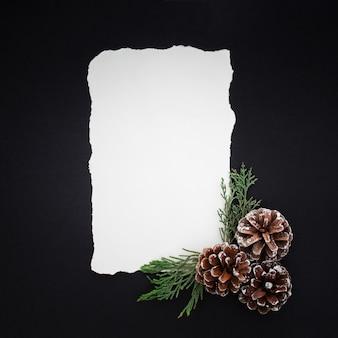 Hermosa carta de navidad