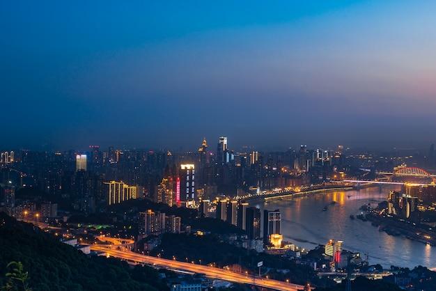 La hermosa ciudad de chongqing