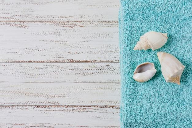Hermosa composición para concepto de spa o baño con copyspace
