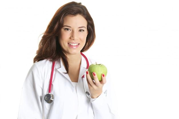 Hermosa doctora