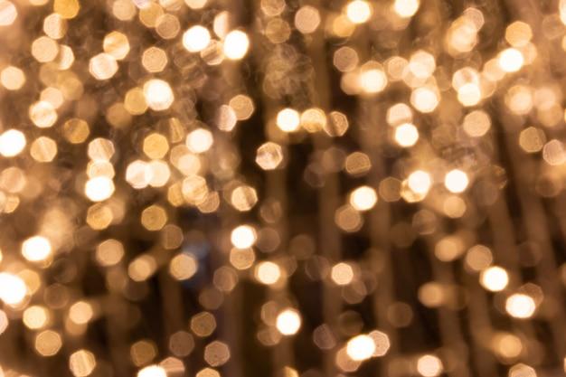 Hermosa iluminación de luz boogie en año nuevo