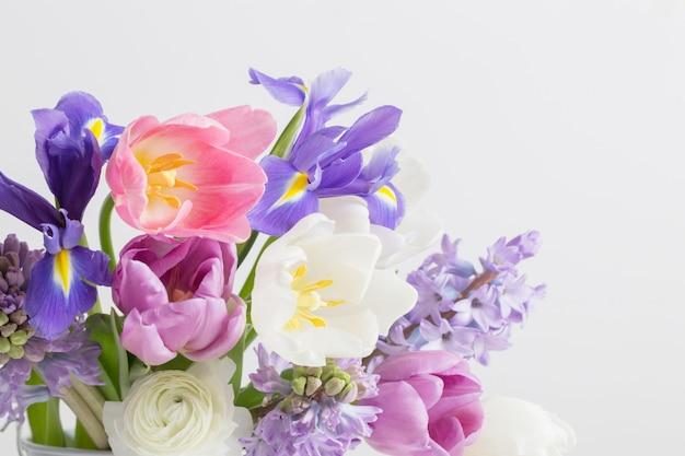 Hermosas flores de sprinf