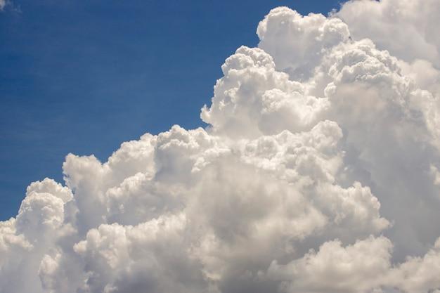 Hermoso cielo con fondo de nubes, cielo con nubes tiempo naturaleza nube azul,