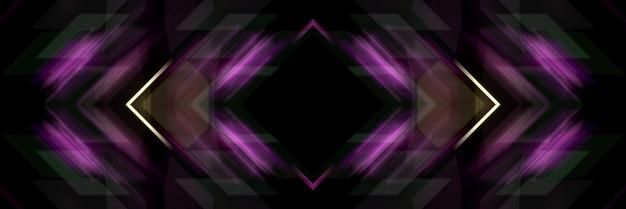 Hermoso fondo abstracto de esquinas y cuadrados.