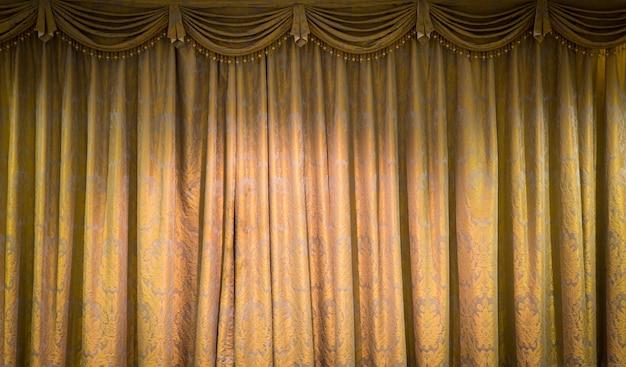 Hermoso fondo de cortina de la vendimia