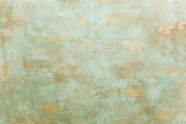 Hermoso fondo de cobre oxidado de cardenillo
