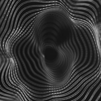 Hermoso fondo. ilustración 3d, renderizado 3d.