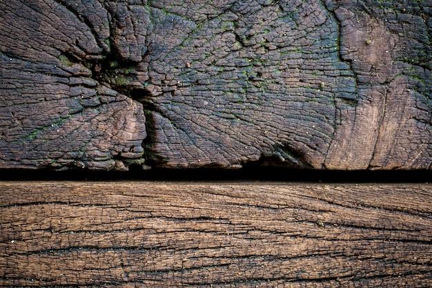 Hermoso fondo de madera vieja