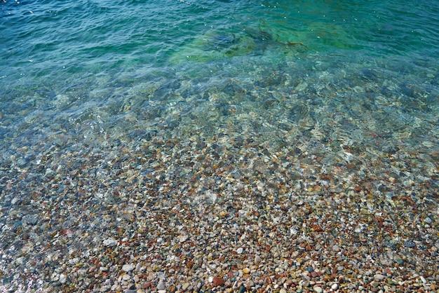 Hermoso fondo mar y playa
