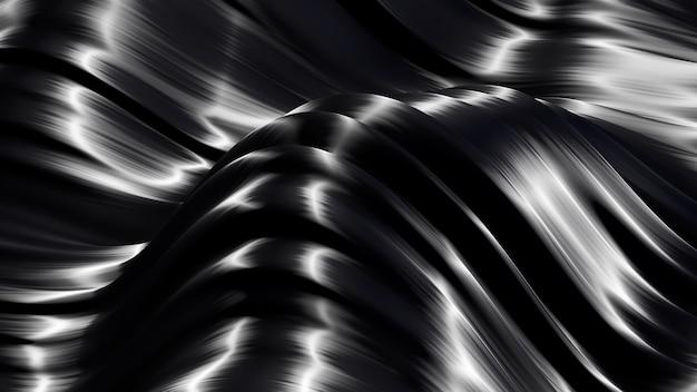 Hermoso fondo metálico de lujo. representación 3d