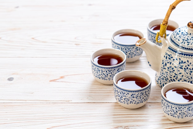 Hermoso juego de té chino