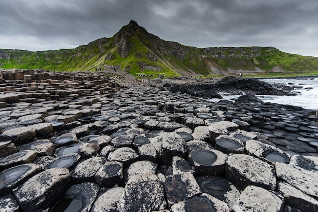 Hermoso paisaje en irlanda del norte
