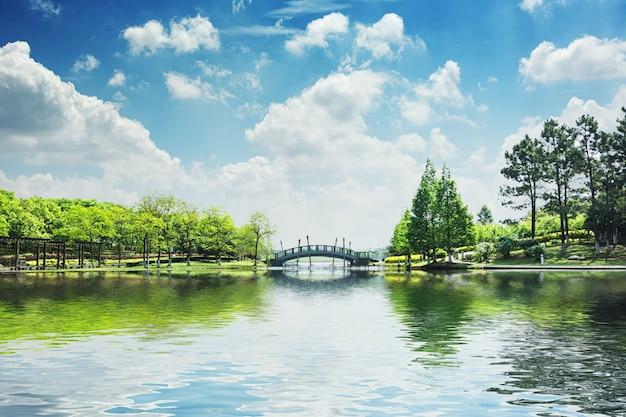 El hermoso parque