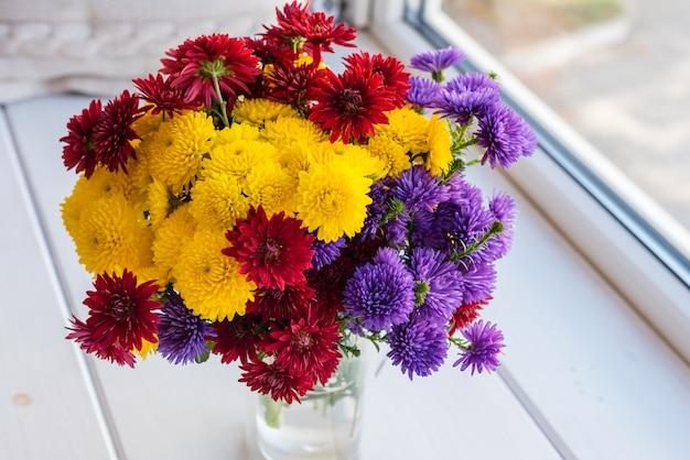 Hermoso ramo de colores brillantes