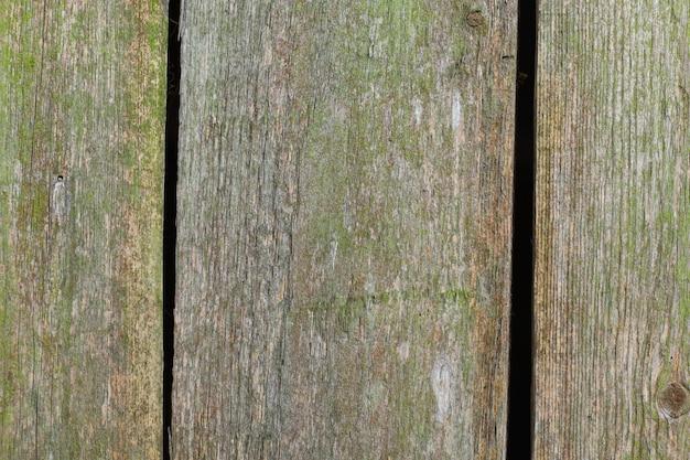 Hermoso tablero verde vintage antiguo o fondo de madera