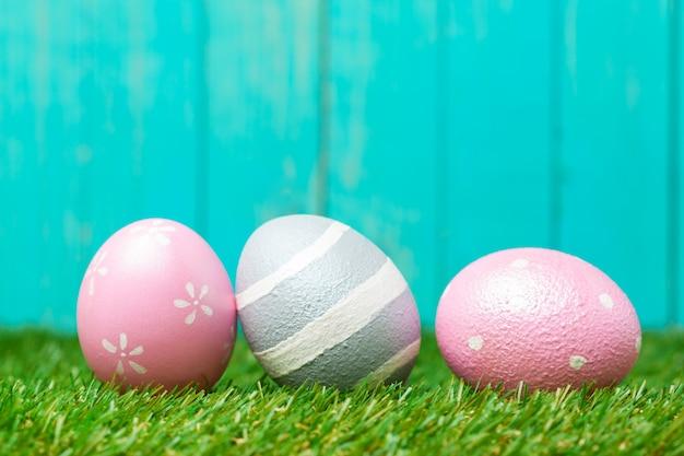 Hermosos huevos de pascua